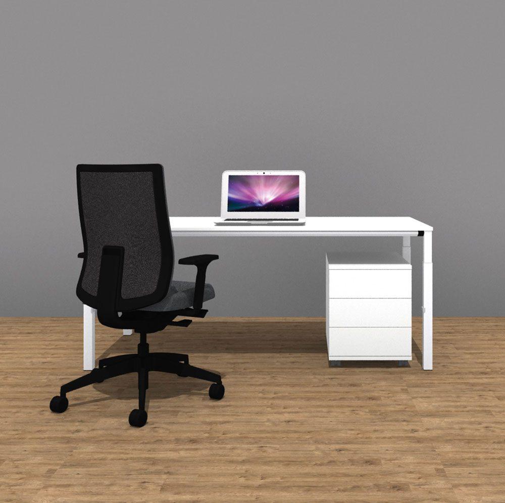 Arbeitsplatzpaket Inkl Manuell Höhenverstellbaren Schreibtisch